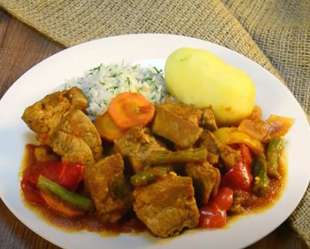 Deliciosa Receta de Asado de cerdo en olla Sofía