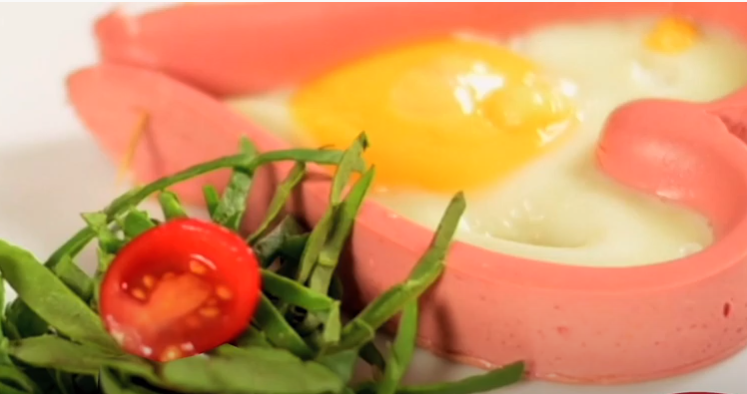 Deliciosa receta de Corazones de Salchicha Frankfurt Sofía