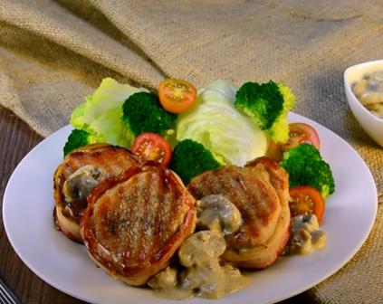 Exquisita Receta de Filet Mingón con lomo de cerdo Sofía