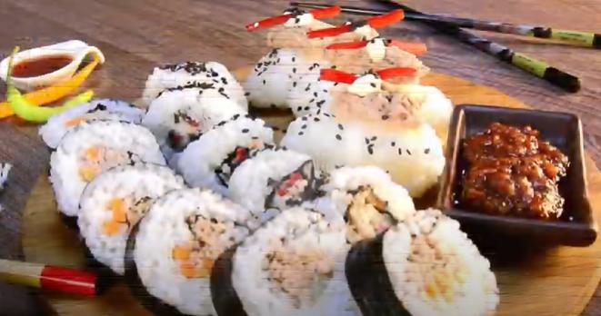 Sushi de atún El Faro