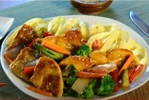 Chop Suey- pavo