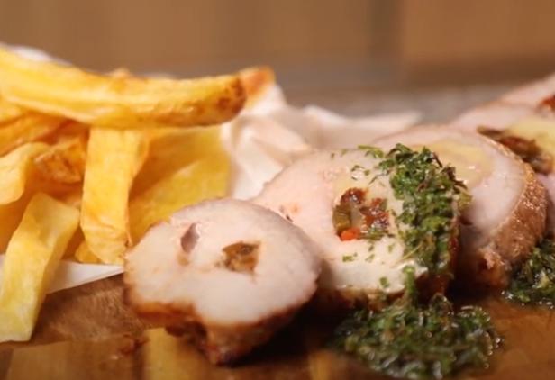 Deliciosa receta de Punta de s de cerdo Sofía rellena
