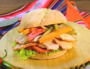 Sandwich de chola – listo para comer