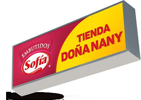 Letrero Sofía Embutidos