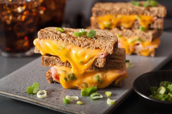sandwich de jamon y queso - sofía